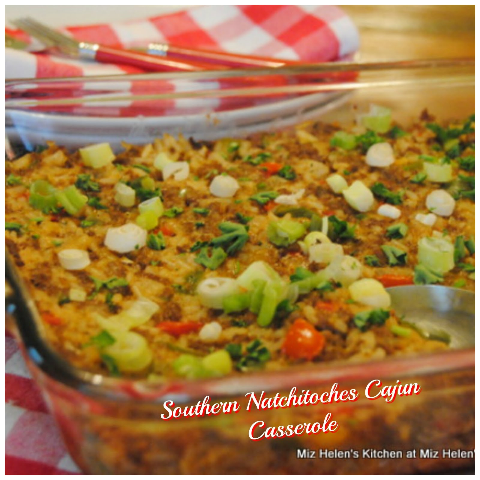 Southern Natchitoches Cajun Casserole