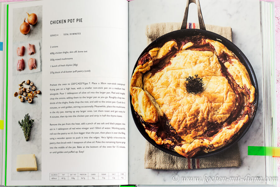 Buchrezension: 5-Zutaten-Küche. Quick & Easy | Kochen mit Diana