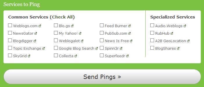Cara Meningkatkan Kecepatan Index Blog di Google dengan Ping