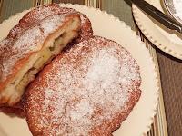 Banana Stuffed Fried Dough