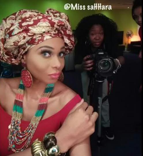 New photographs of Miss SaHHara