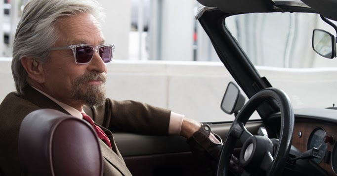 Michael douglas will return in ant man and the wasp which begins