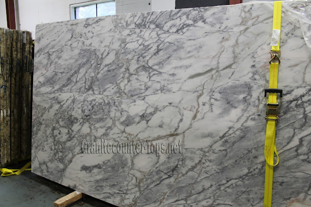 Super White Marble Slab Honed