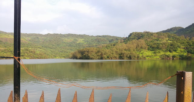 A bike ride to Bushi Dam