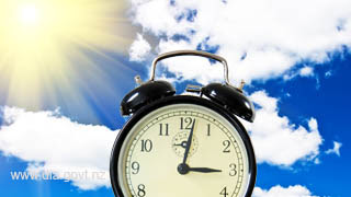 Clocks go forward on March 27 2016