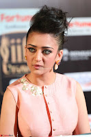 Akshara Haasan in Peachy Crop Top Choli Skirt at IIFA Utsavam Awards 58.JPG