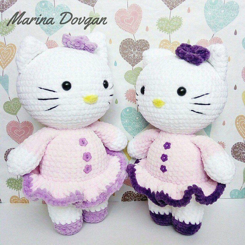 Crochet Hello Kitty Free Pattern Amigurumi Amigurumi Space