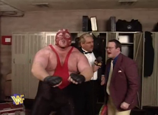 WWF / WWE Royal Rumble 1996: Jim Cornette revealed that he was Vader's new manager