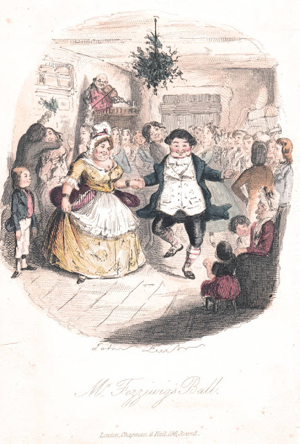 Christmas Carol Illustration by John Leech