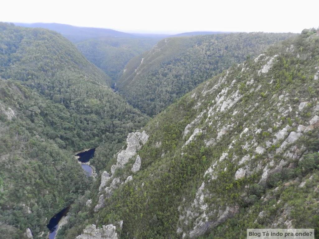 caminho de Knysna para Parque Tsitsikamma