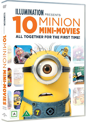 Minion 10 Mini-Movies 2019 DVD R4 NTSC Latino