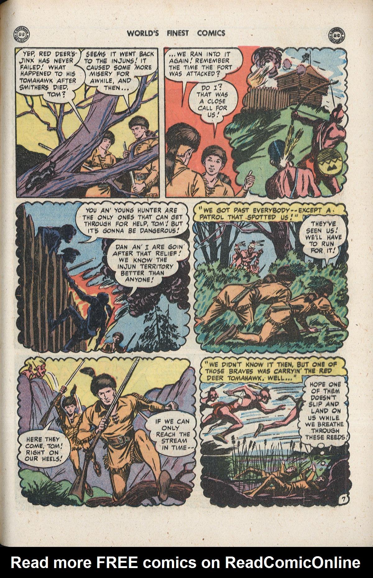 Read online World's Finest Comics comic -  Issue #33 - 43