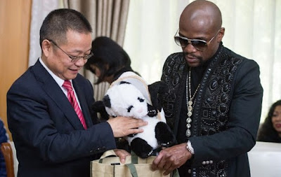 Floyd Mayweather Adopts A Panda For £11k & Names It After Himself