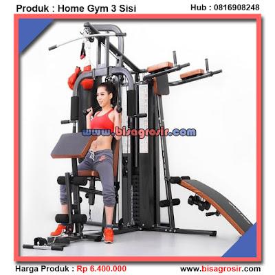 Home Gym 3 Sisi Sansak Alat Olahraga Lengkap