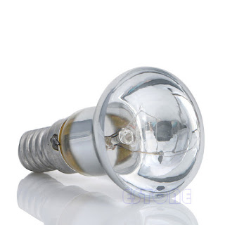Clear Reflector Spot Light Filament 30W R39 Bulb Lava Lamp SES E14 Screw