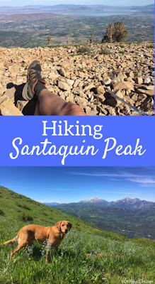 Hiking to Santaquin Peak, Wasatch Peak Baggers