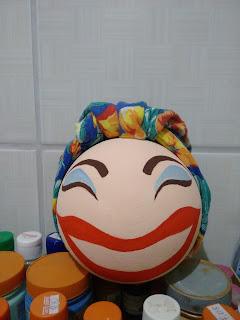 Boneca Carmen Miranda