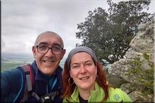 San Formerio mendiaren gailurra 752 m. - 2018ko apirilaren 29an