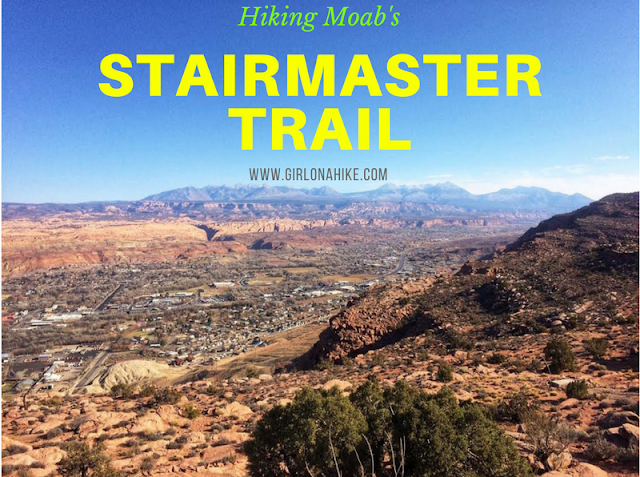 Hiking the Stairmaster Trail, Moab, Hiking in Moab with Dogs, Hiking in Utah