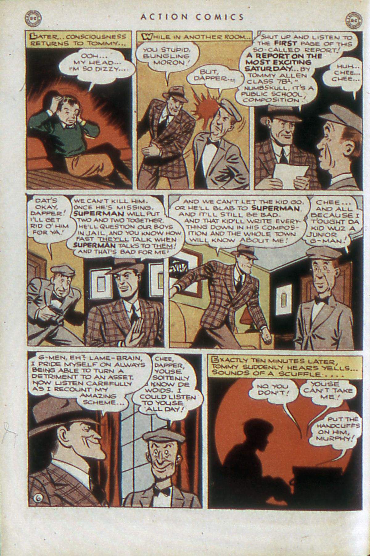 Read online Action Comics (1938) comic -  Issue #84 - 9