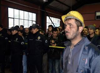 kömür ocağında metan gazı patlaması sonucu 8 madenci yaşamını yitirdi