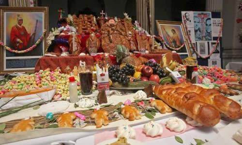 Fiesta de todos los santos Día de muertos