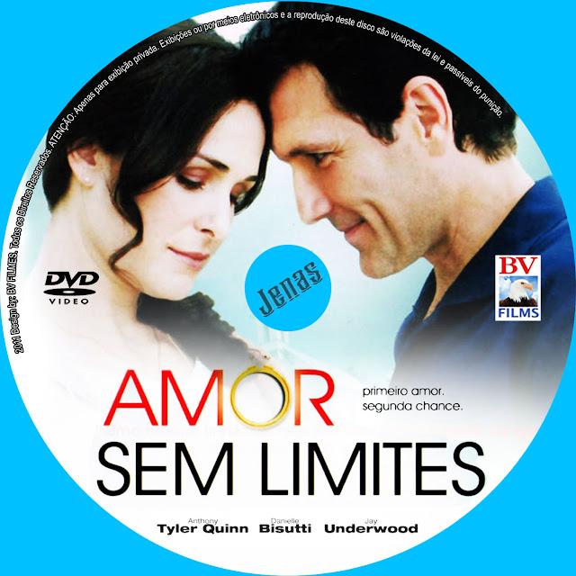 Label DVD Amor Sem Limites