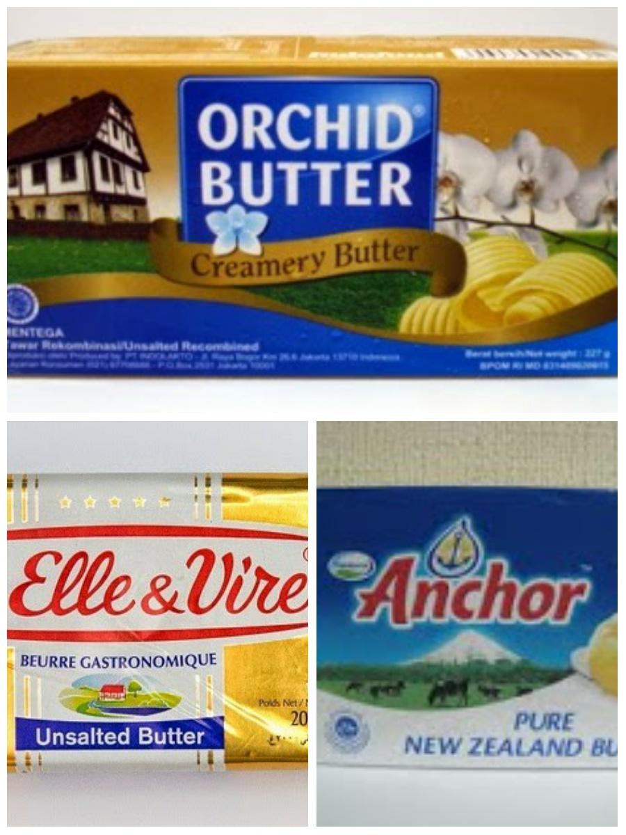 Unsalted Butter Adalah : unsalted, butter, adalah, Perbedaan, Margarin,, Mentega,, Butter, Roombutter, Dapur, 🍰☕