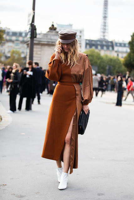 Street style at Paris Fashion Week Spring-Summer 2019