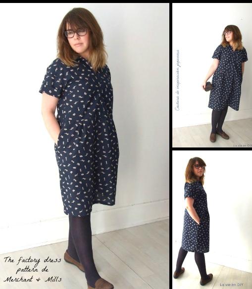 Factory Dress Pattern by Merchant & Mills - La vie en DIY