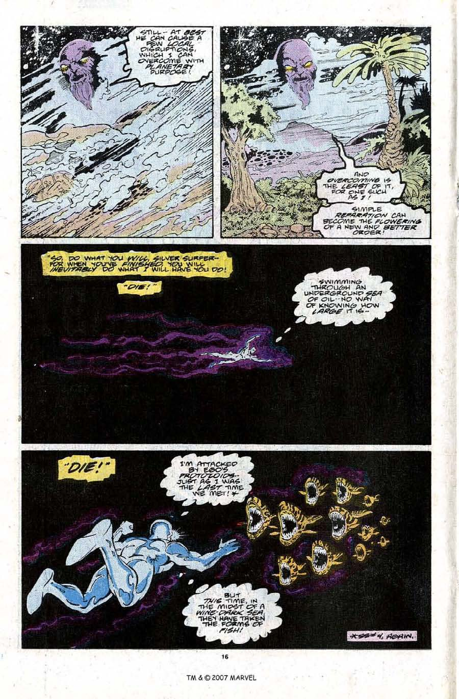 Read online Silver Surfer (1987) comic -  Issue #22 - 18