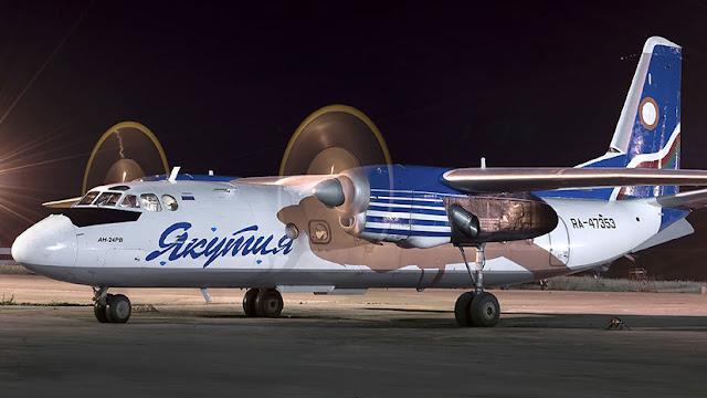 Самолёт с 38 пассажирами приземлился в аэропорту Якутска с выключенным двигателем