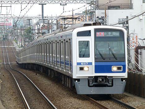 東急東横線 特急 小手指行き 6000系