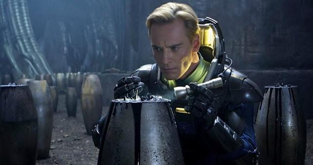 Fassbender será dos androides en Alien: Covenant