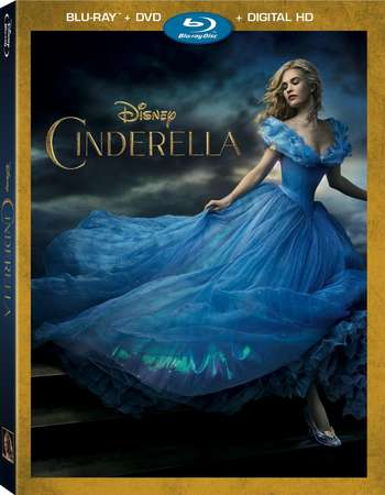 Poster Of Cinderella 2015 English 300MB BRRip 480p ESubs Free Download Watch Online