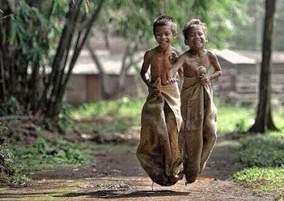 Felicidade de uma criança