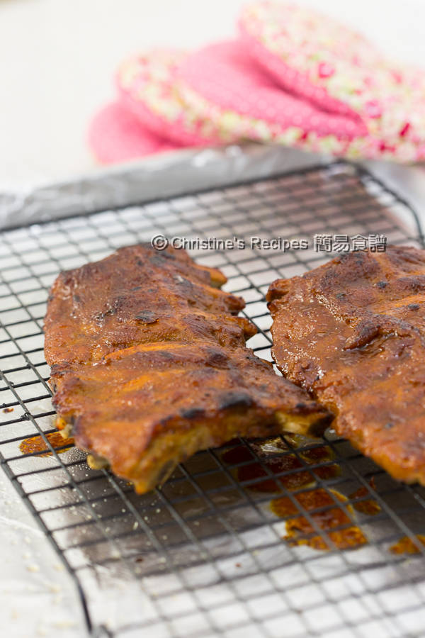 焗燒排骨 Smoky BBQ Pork Ribs Instant Pot02