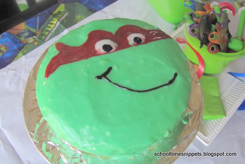 A Turtle Y Awesome 6th Birthday School Time Snippets