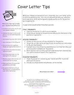 Handy Stuff for the English Classroom CV WRITING TIPS
