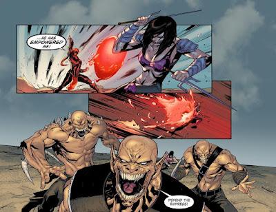 """Mortal Kombat X: Isla de Sangre"" de Shawn Kittelsen - ECC Ediciones"