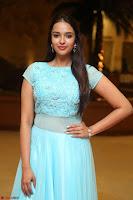 Pujita Ponnada in transparent sky blue dress at Darshakudu pre release ~  Exclusive Celebrities Galleries 013.JPG