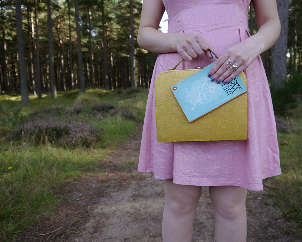Moonrise Kingdom costume, fun fashion bloggers, colourful fashion, quirky fashion, wearable Halloween outfit, easy Halloween, Suzy Bishop, Wes Anderson style inspiration, Tentsmuir National Nature Reserve, Tayport photoshoot,