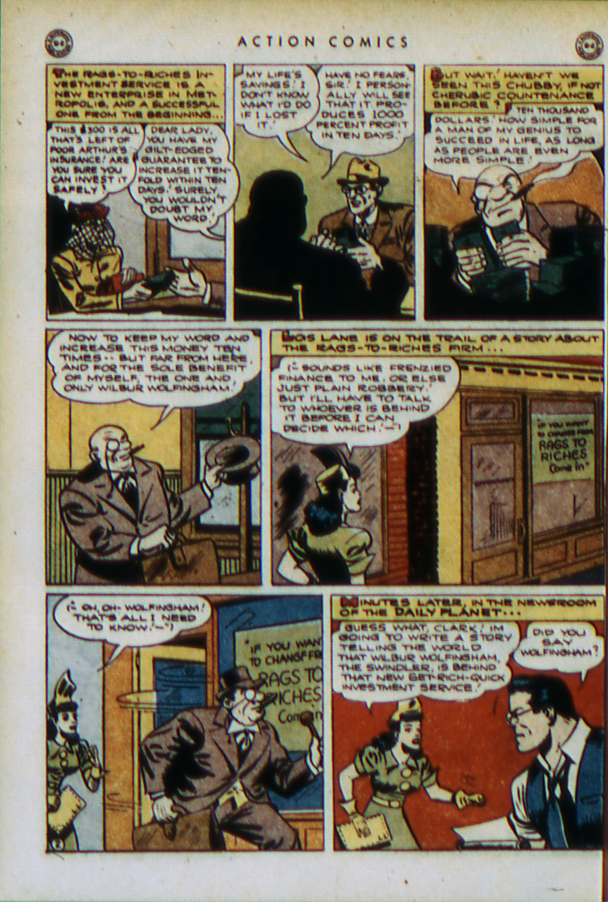 Read online Action Comics (1938) comic -  Issue #79 - 5