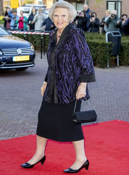 Queen Maxima wore a bespoke dress by Claes Iversen from Spring Summer 2018 Couture collection. Princess Beatrix, Princess Laurentien