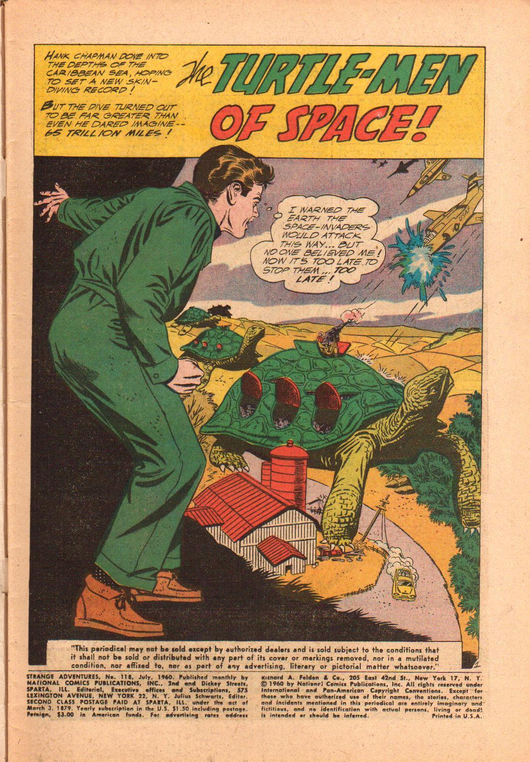 Strange Adventures (1950) issue 118 - Page 3