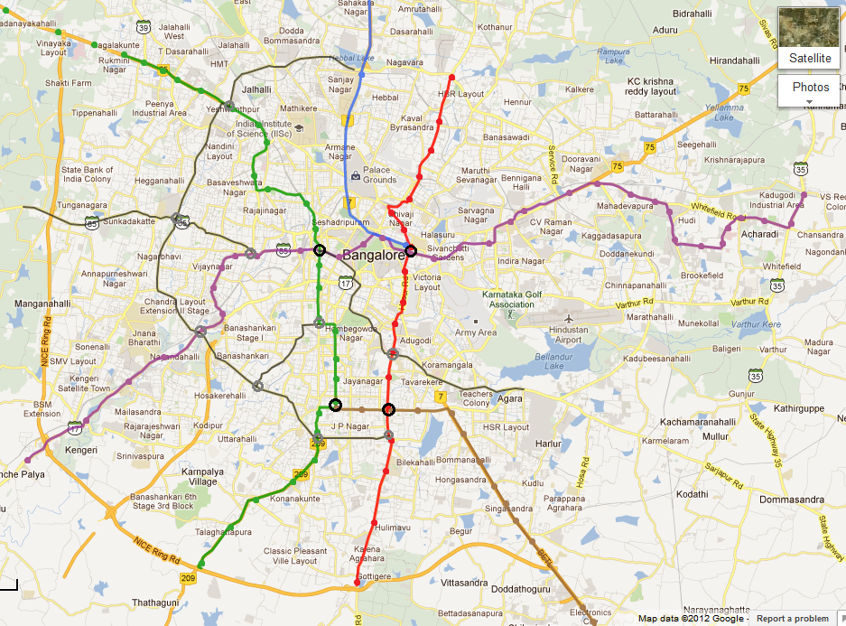 Archive for category: Bangalore Metro