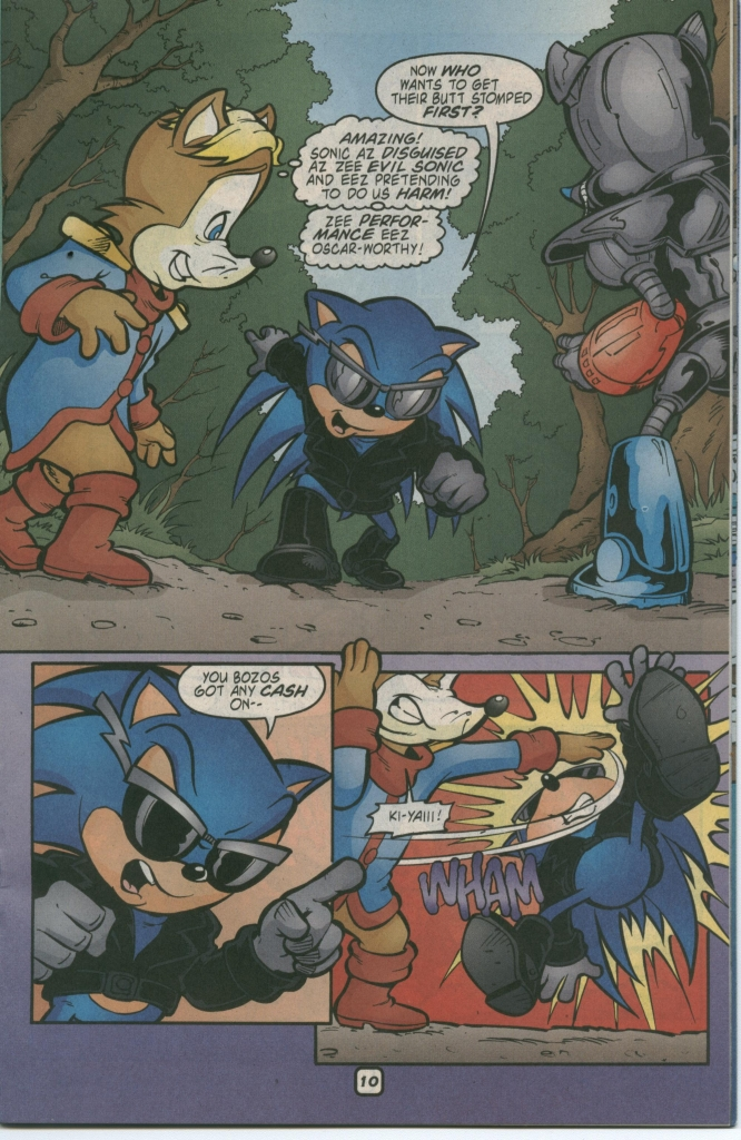 Read online Sonic The Hedgehog comic -  Issue #112 - 15