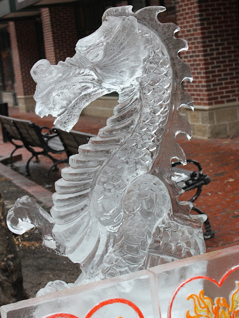 Making History. Sweet Ice Sculptures