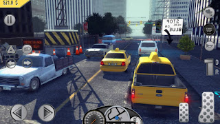 Taxi Simulation Game