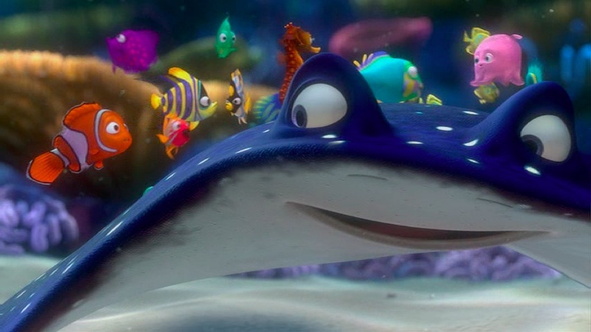 Finding Nemo Characters Mr Ray Director's ...